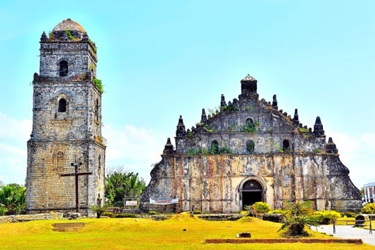 L'église San Augustin de Paoay