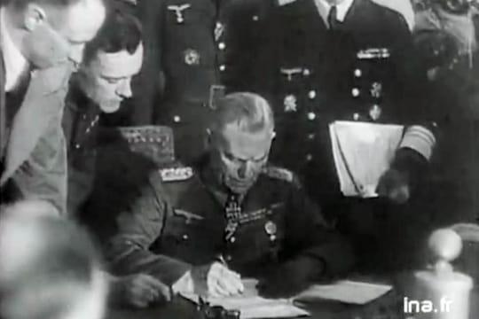 8 mai : l'imposture de la date delacapitulation allemande en1945