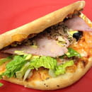 Plat : Facefood Pizza  - Piwitch viande hachée bacon ! Hummm ! -   © Facefood pizza