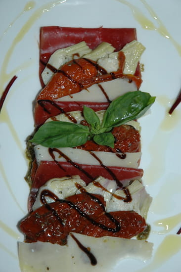 La Cigale  - millefeuille de viande des grisons -