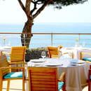 Restaurant : La Villa Madie  - La terrasse du restaurant étoilé -   © @PetitGastronome