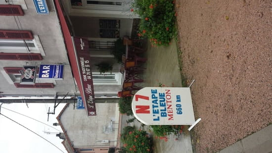 Restaurant : L'Etape Bleue