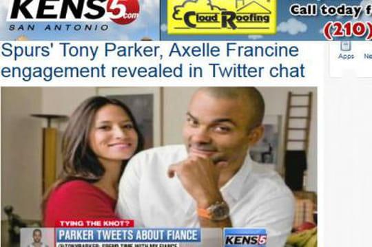 Axelle Francine: qui est la nouvelle fiancée deTony Parker?