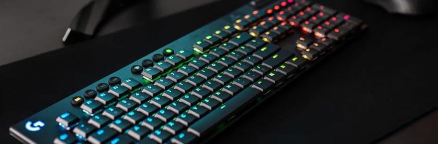 Bon plan clavier gamer: le G915sans-fil de Logitech à -15%