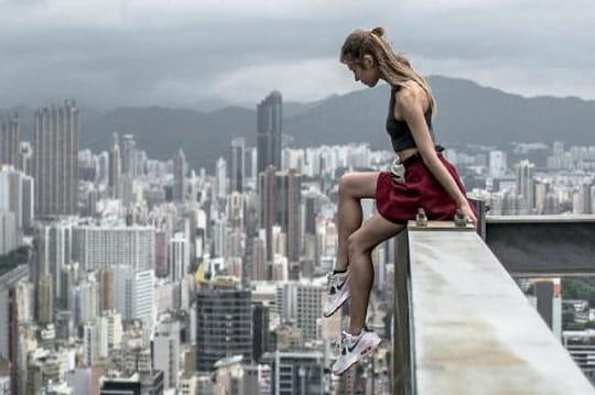 Les photos vertigineuses d'Angela Nikolau