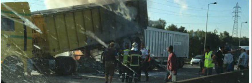 Accident mortel A31 : l'autoroute de nouveau ouverte vers le Luxembourg après un carambolage