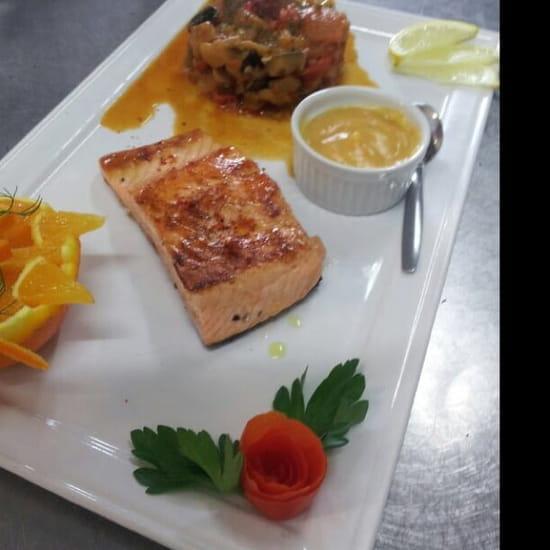 Restaurant : L'Adresse  - Saumon -