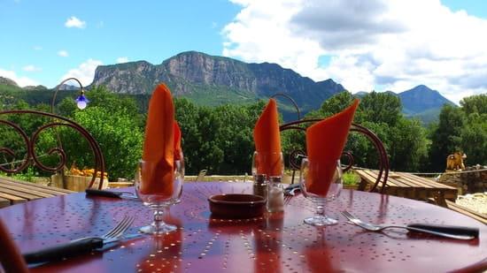 Les Tables de Co  - Terrasse panoramique sur les contreforts du Vercors -