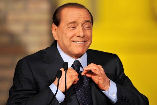 Les pitreries de Silvio Berlusconi