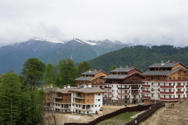 Village olympique Sotchi