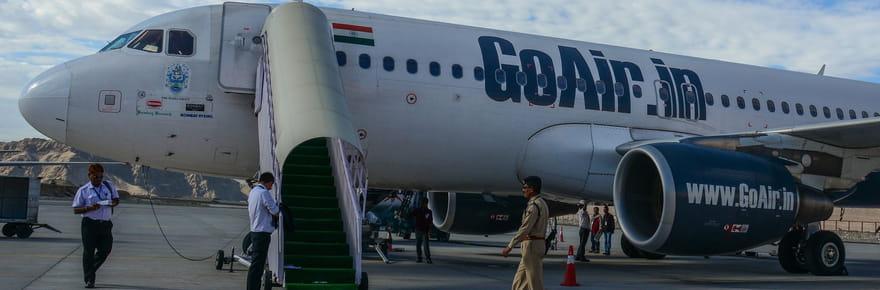 GoAir: un homme tente d'ouvrir la porte de l'avion en plein vol