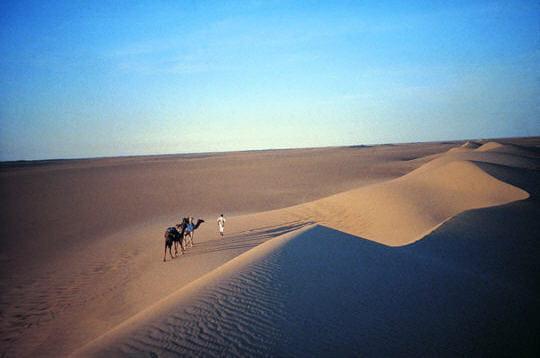 Le Sahara solitaire