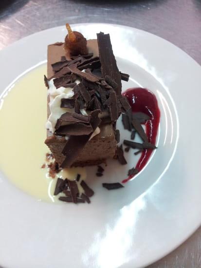 La Table d'Hôte  - entremet au chocolat -   © fernandes edwige