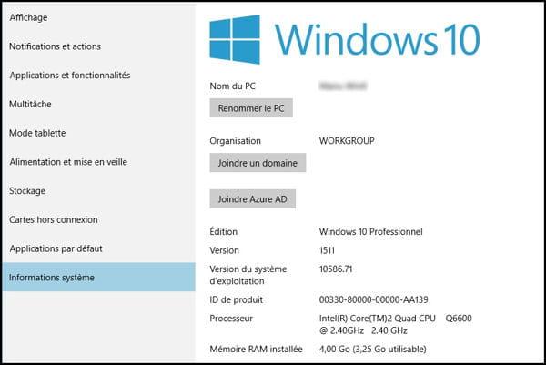 Conna tre la configuration de mon ordinateur - Comment mettre une icone sur le bureau ...