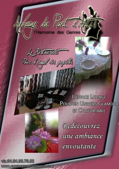 L'Auberge du Pont d'Antis  - Présentation du restaurant -   © REFRESH