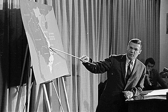 Les Américains bombardent le Nord-Vietnam