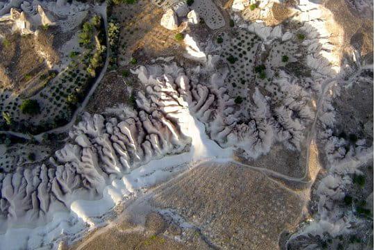 Les paysages irréels de la Cappadoce