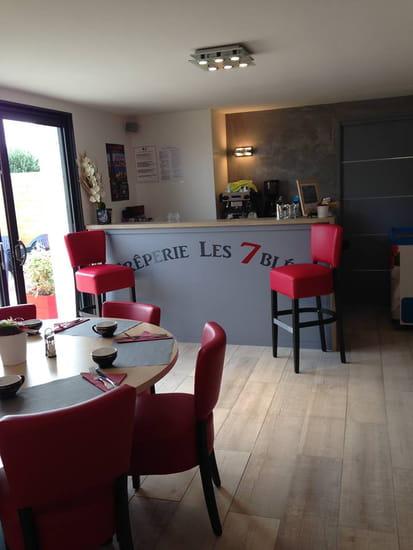 Crêperie  Les 7 Blés  - Le bar du restaurant -   © non