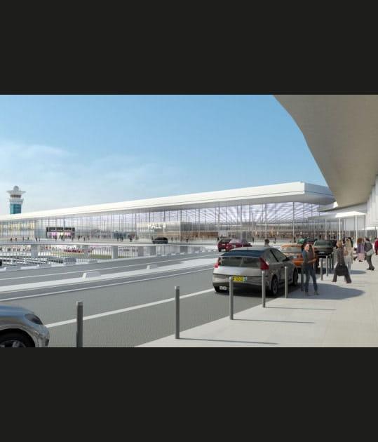 Orly 2018: les premières images dufuturaéroport