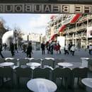 Le Café Beaubourg  - Vue sur la place -   © L'Internaute Magazine / Cécile Debise