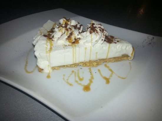 Dessert : Restaurant le M  - Banofee Maison -
