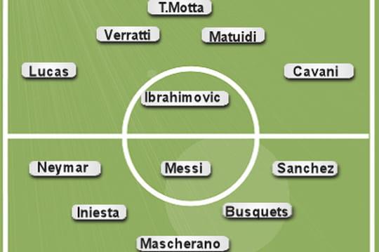 Foot - Barcelone - PSG 2014: la composition des équipes dévoilée
