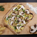 Plat : Yellow Kitchens  - Pizza truffe -   © Yellow Kitchens
