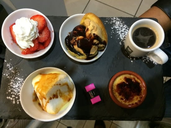 Le Quai 76  - café très gourmand du quai 76 -