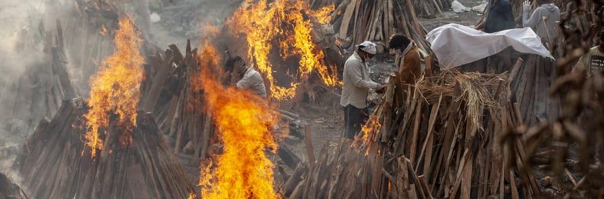 Le chaos du Covid en Inde