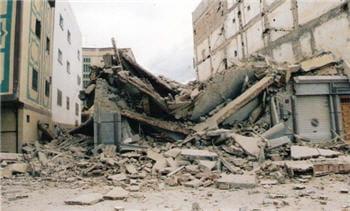 un tremblement de terre meurtrier a secoué la ville d'el hoceima et les villages