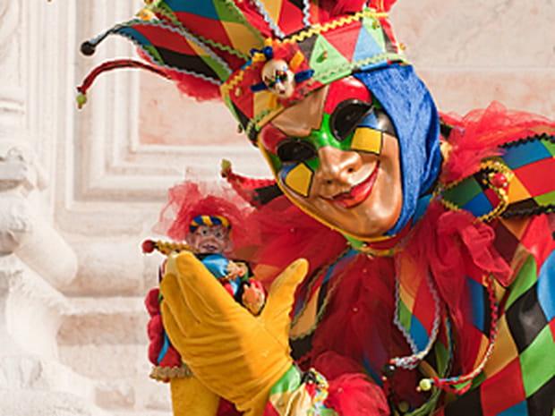 Bas les masques au carnaval de Venise