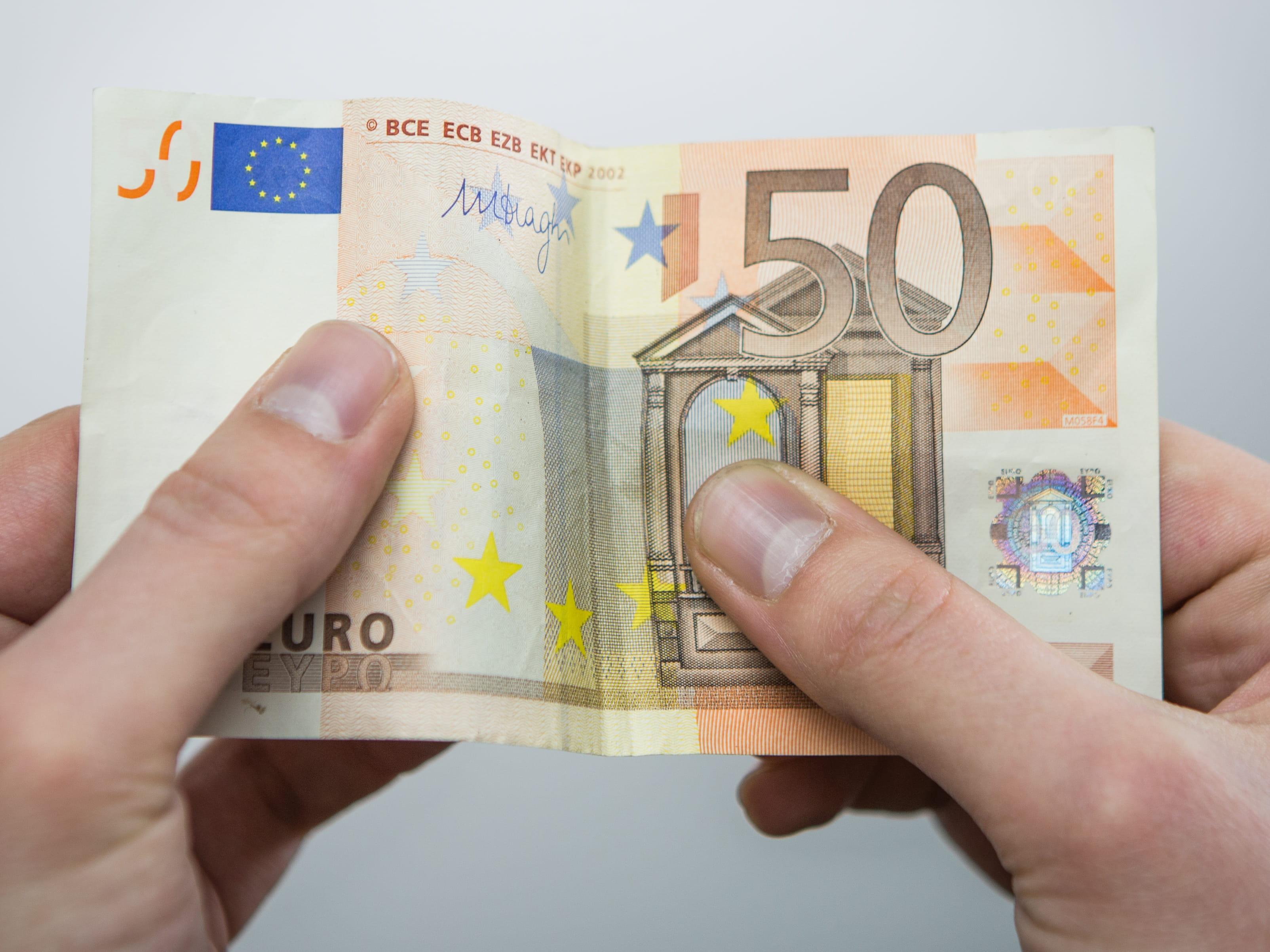 billet de banque en coton