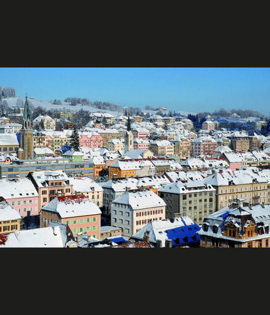 L'urbanisme horloger de la Chaux-de-Fonds enSuisse