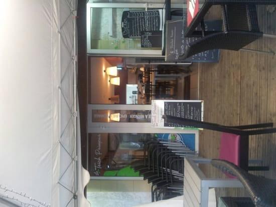 Restaurant : Le Teich Primeur  - L'entrée et la salle -