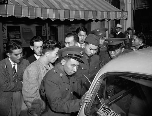 Japonais-Américains dans l'US army