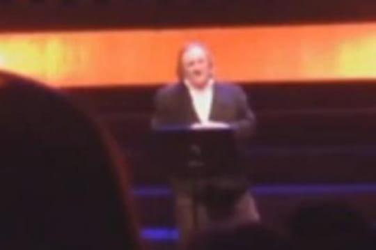"""Depardieu saoul en Belgique: """"Je vous emmerde"""""""