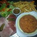 Plat : Le Somail  - Camembert pané -