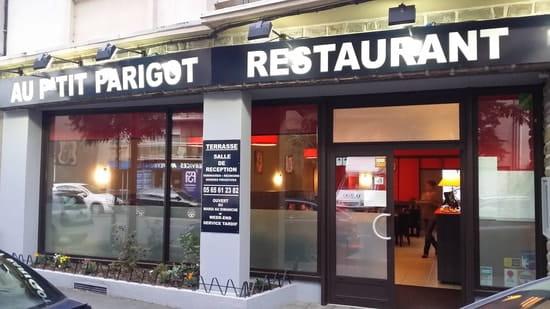 Au P'tit Parigot  - façade de notre établissement -