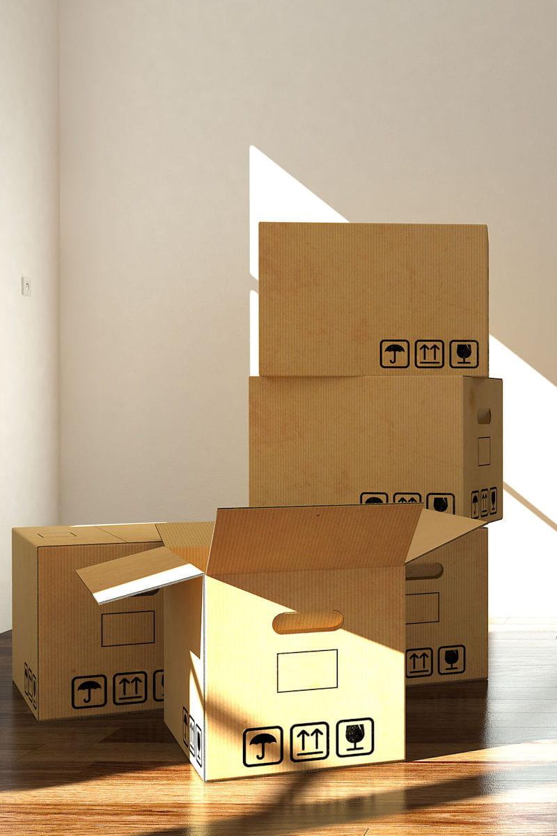 vous utilisez une pi ce de la maison pour entreposer des cartons. Black Bedroom Furniture Sets. Home Design Ideas
