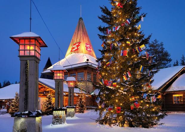 Visitez le vrai village du Père Noël en Laponie