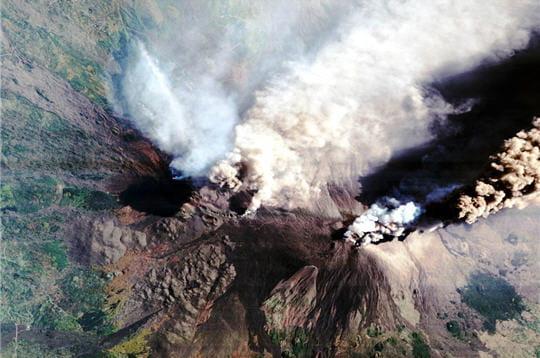 Etna fumant