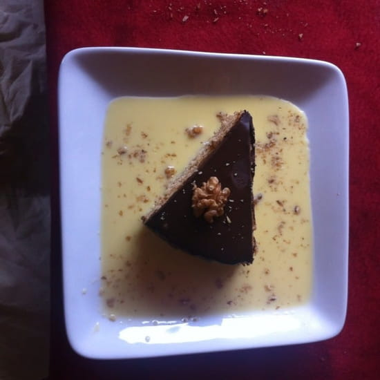 Dessert : Auberge Lembert  - Gâteaux aux noix -