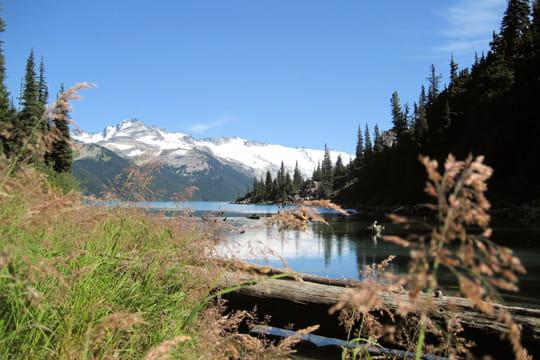 Le lac Garibaldi