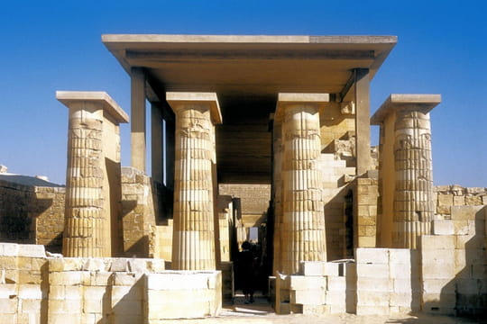 Nécropole de Saqqarah, la plus vaste d'Égypte