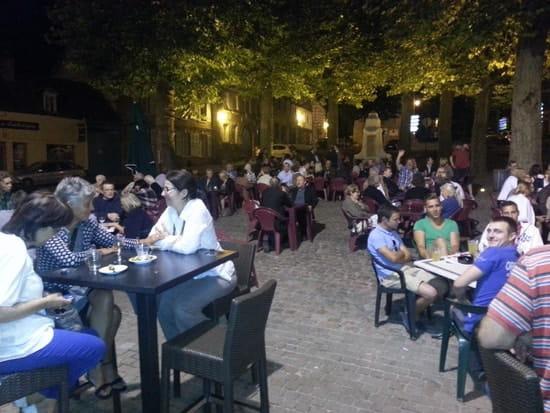 Café Restaurant de l'Abbaye  - Terrasse du café -