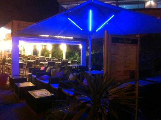 Le Narval  - Notre terrasse Lounge By Night -   © Le Narval