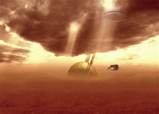 Les nuages atmosphériques de Titan