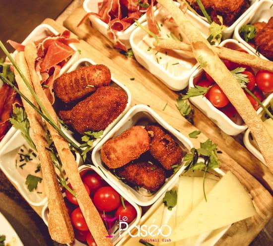 Plat : Le Paseo - Cocktail club & restaurant (Ex : LE SUD)  - Planche tapas Ibérique -   © Le Paseo - Cocktail club & restaurant