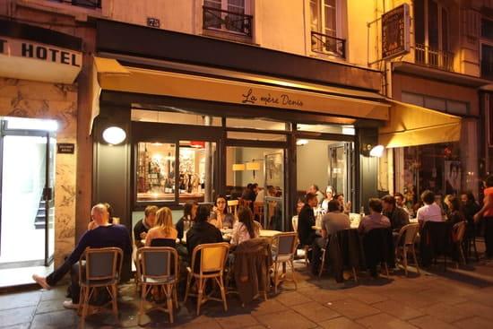 La Mère Denis  - Restaurant La Mère Denis - Terrasse le soir -   © Restaurant La Mère Denis