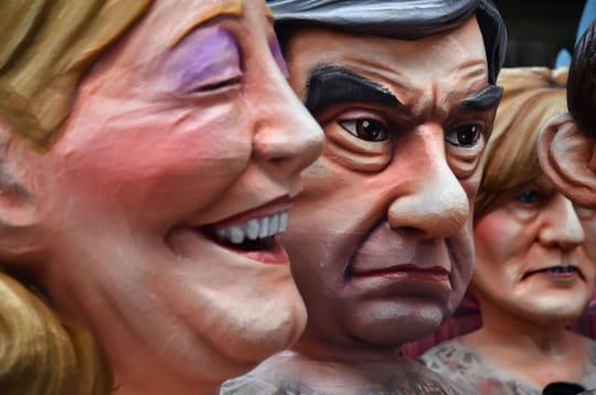 Carnaval de Nice: les politiques ont toujours la grosse tête